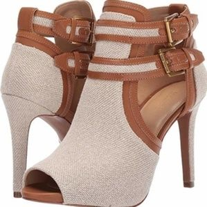 Michael Kors Blaze Open Toe Booties